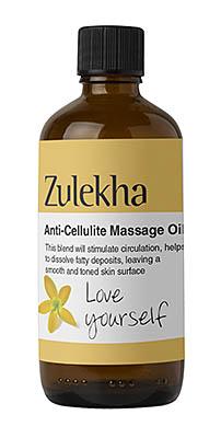 Anticellulite massage oil