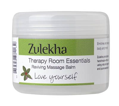Reviving massage balm