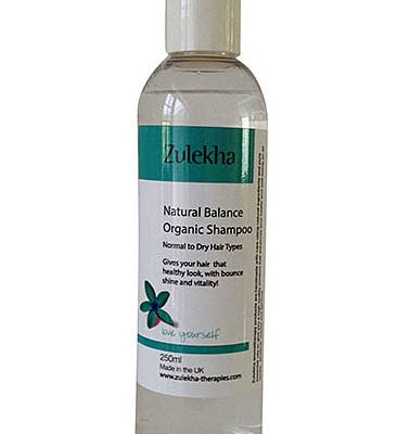 Natural balance shampoo normal to dry hair